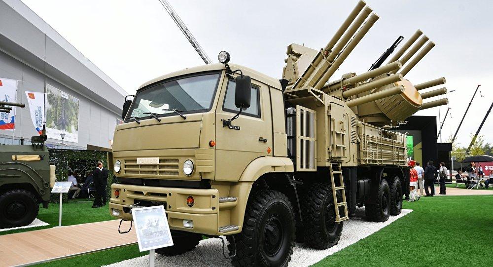 """俄技术集团:""""铠甲""""弹炮合一防空系统完成升级"""
