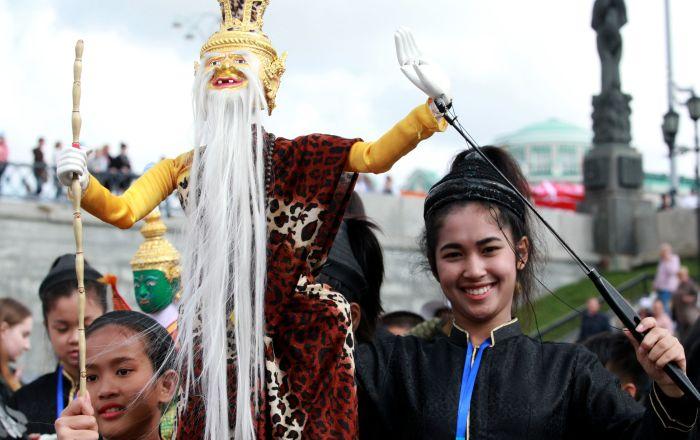 叶卡捷琳堡世界木偶狂欢节