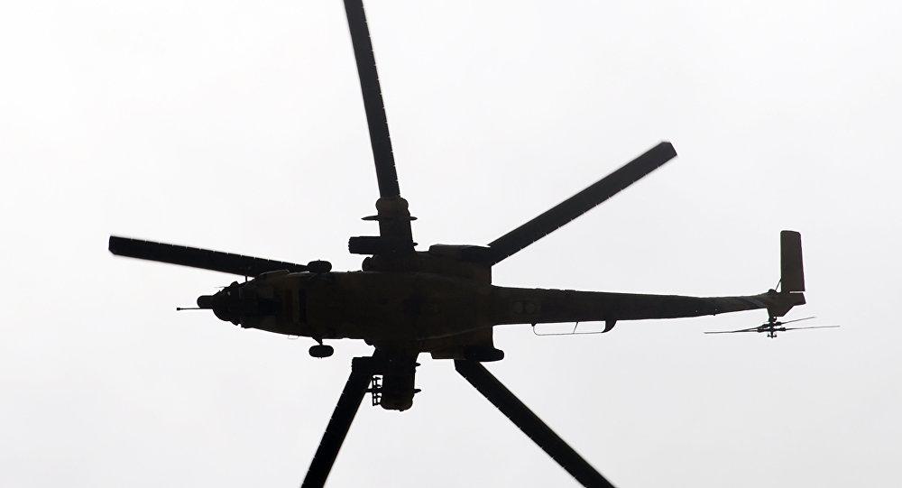 美军一架直升机在伊拉克坠毁,一名士兵丧生