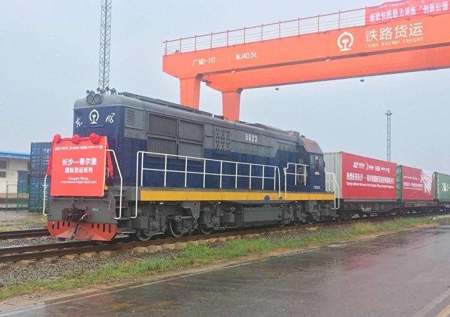 «РЖД Логистика» запустила новый транзитный контейнерный маршрут из Китая в Европу