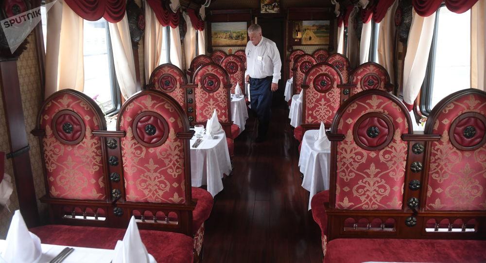 豪華旅遊專列「俄羅斯帝國」號列車