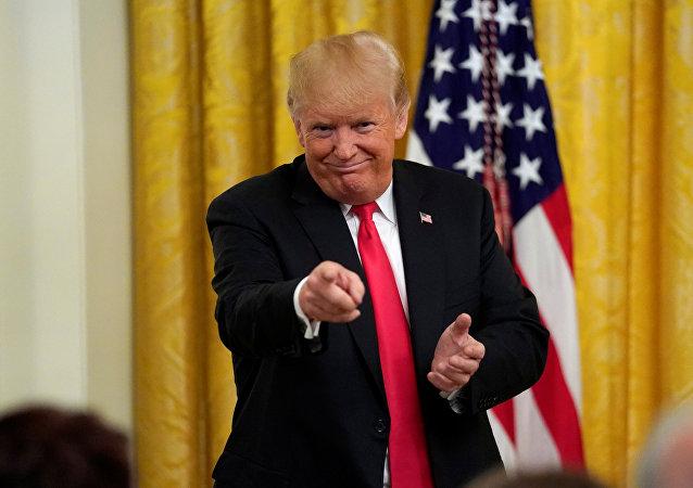 特朗普:中國需與美國簽訂契約
