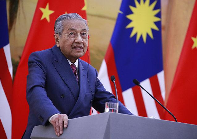 马来西亚总理马哈蒂尔∙穆罕默德