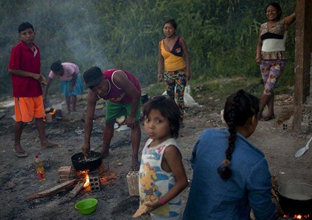 來到巴西的委內瑞拉移民