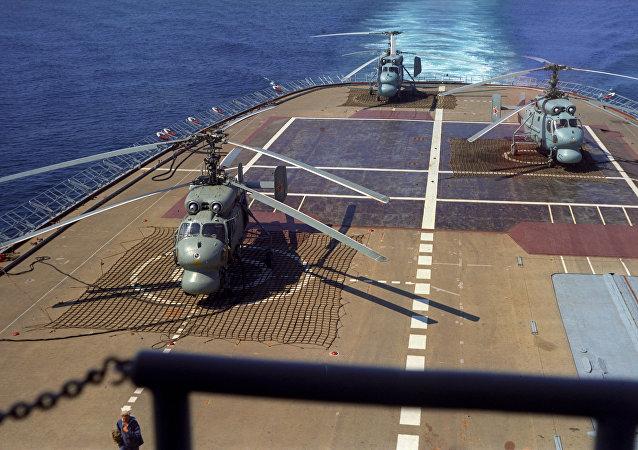 」莫斯科「號直升機航母