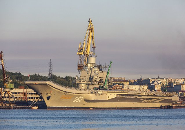 蘇聯艦隊庫茲涅佐夫海軍上將號重型航母