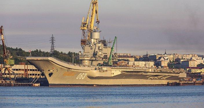 苏联舰队库兹涅佐夫海军上将号重型航母
