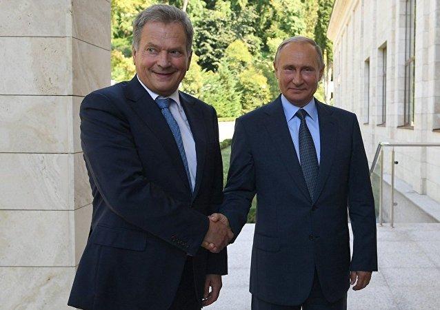 普京:俄准备参加芬兰组织的北极理事会峰会