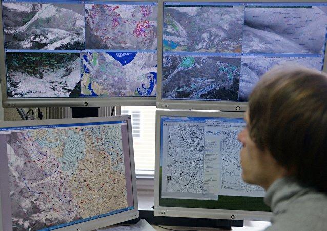 俄聯邦水文氣象和環境監測局工作人員