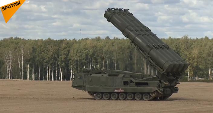 T-90坦克升級版亮相「軍隊-2018」論壇