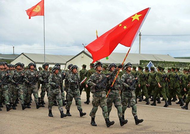 中国军队赴俄参演有益于维护地区和平稳定