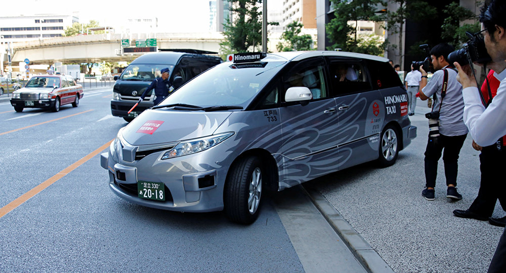东京开展自动驾驶出租车载客测试