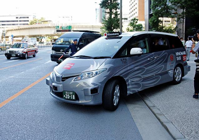 東京開展自動駕駛出租車載客測試