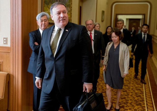 美國國務卿訪問朝鮮
