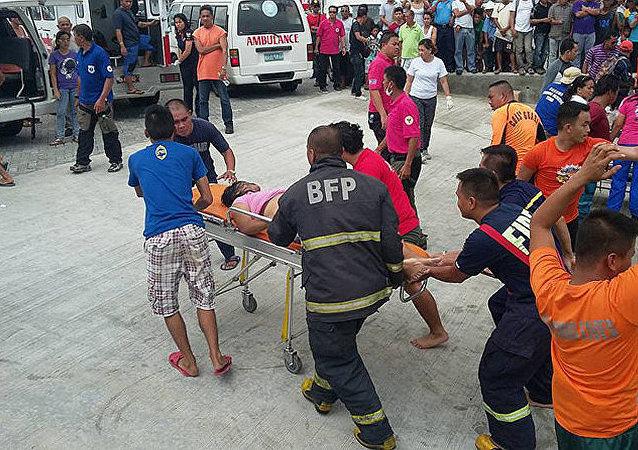 菲律宾救护车(资料图片)