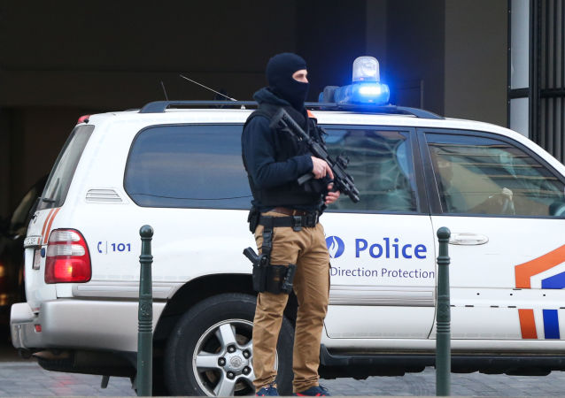 Сотрудник бельгийской полиции. Архивное фото