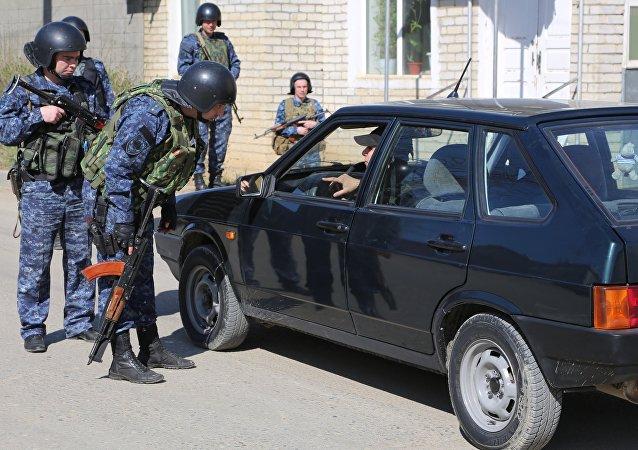 俄达吉斯坦警方