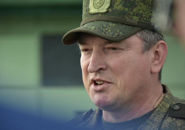 俄联邦中央军区总指挥 亚历山大·拉兵