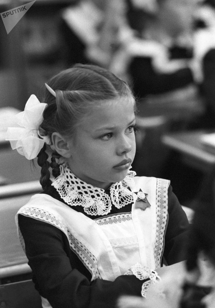 一年級新生,1983年。
