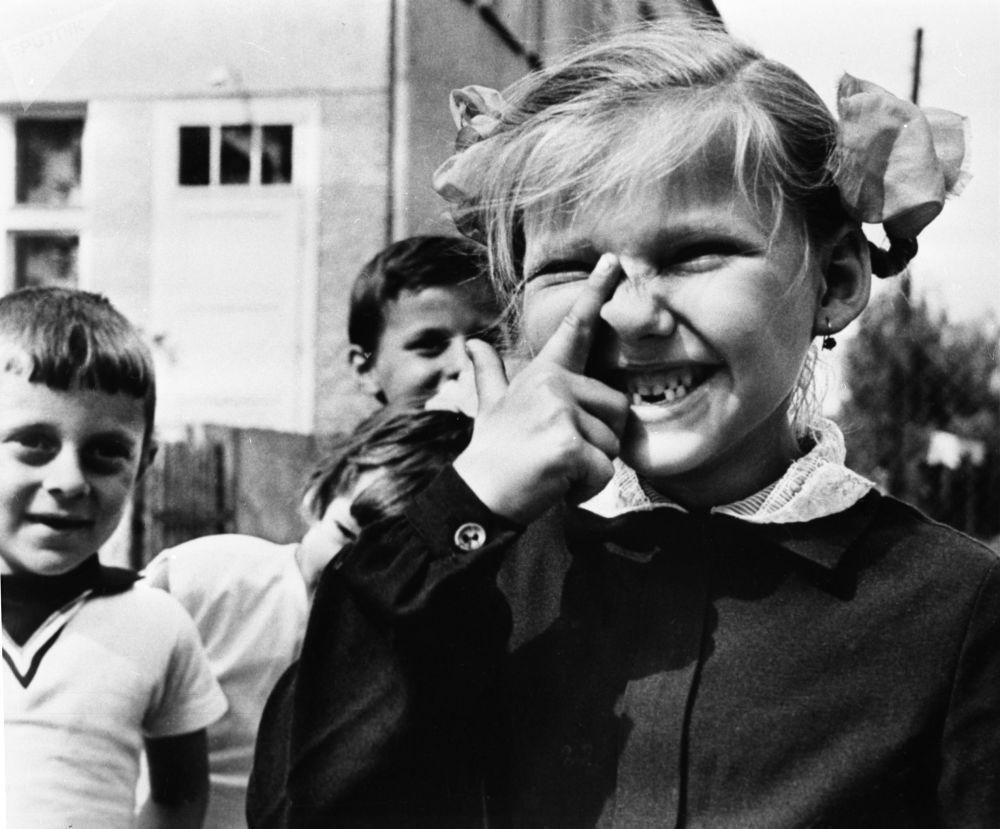 一年级新生,1970年。