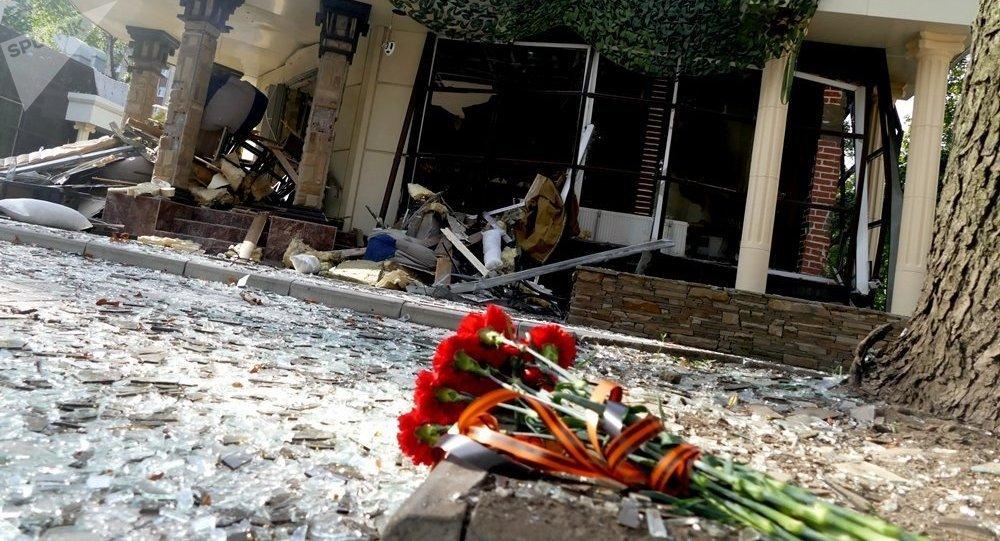 扎哈爾琴科顧問:扎哈爾琴科因沒有外殼的爆炸裝置引爆而亡