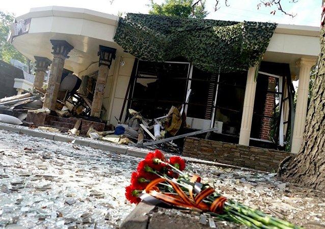 扎哈尔琴科顾问:扎哈尔琴科因没有外壳的爆炸装置引爆而亡