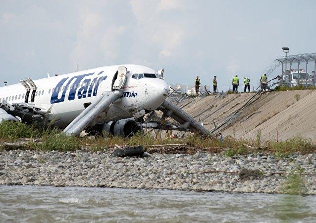 網絡出現索契機場緊急著陸前飛行員談話錄音