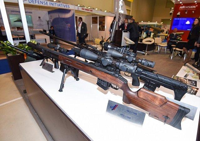 俄羅斯軍械師造出獨特的狙擊步槍