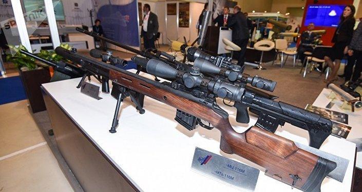 俄罗斯军械师造出独特的狙击步枪