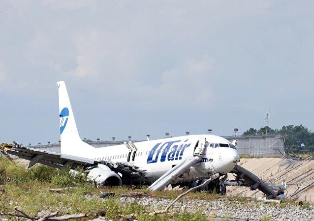 俄乌塔航空公司将向索契降落出现事故的飞机乘客进行赔偿