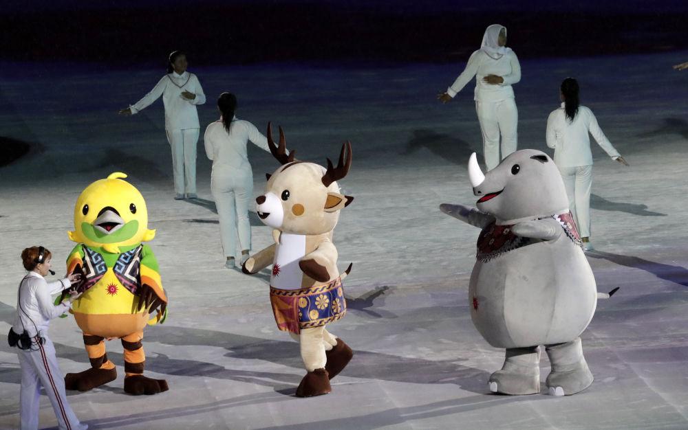 2018年雅加達亞運會閉幕式