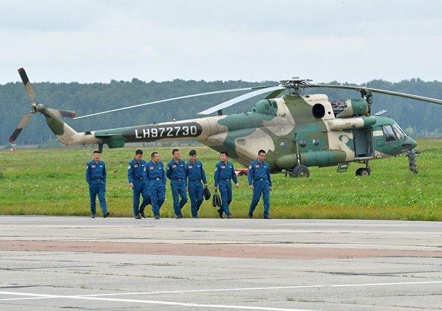 上合组织反恐军演后中印哈军事飞行员已从俄罗斯启程回国
