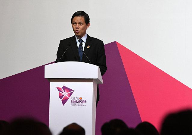 新加坡贸工部长陈振声