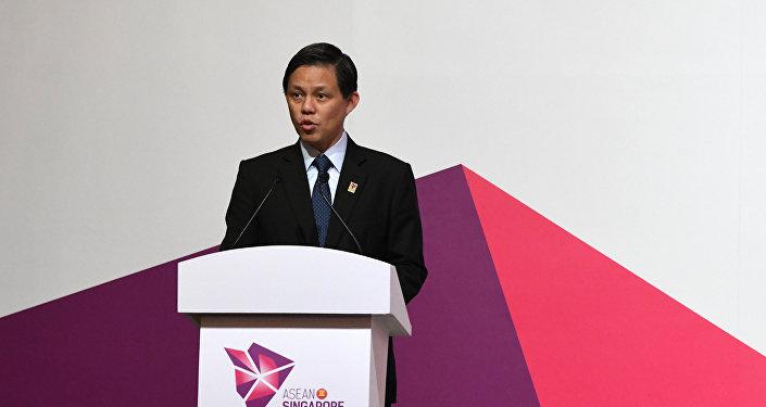 新加坡貿工部長陳振聲
