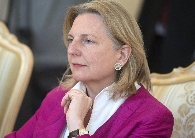 奥地利外长因间谍丑闻取消访俄