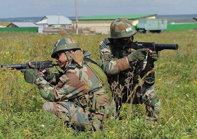 印度和哈萨克斯坦9月10日至23日将举行联合军演