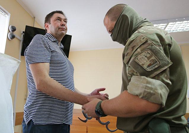 """""""俄新社乌克兰网站""""负责人基里尔·维辛斯基"""