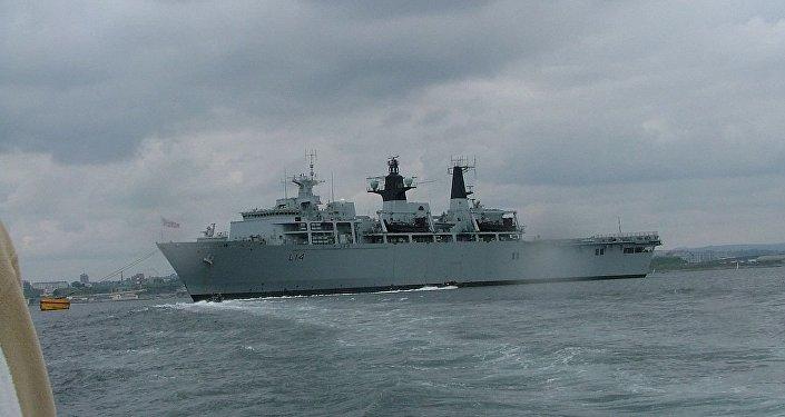 英国军舰进入南海,试探中英关系的牢固性