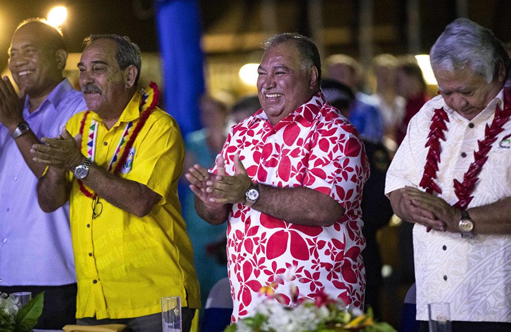 瑙鲁总统巴伦·瓦卡