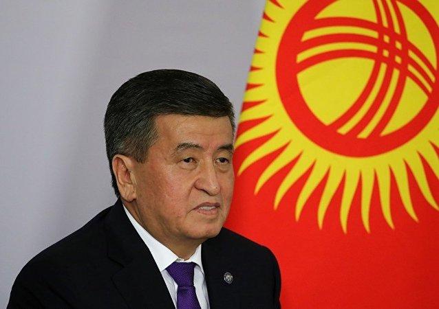 吉尔吉斯斯坦总统索伦贝·杰恩别科夫