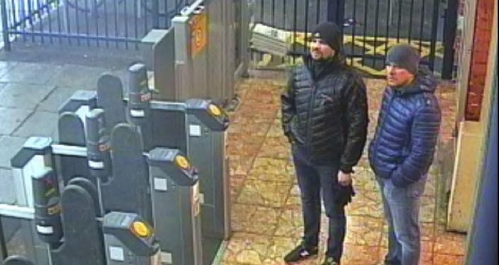 倫敦,斯克里帕利案的兩名嫌疑人