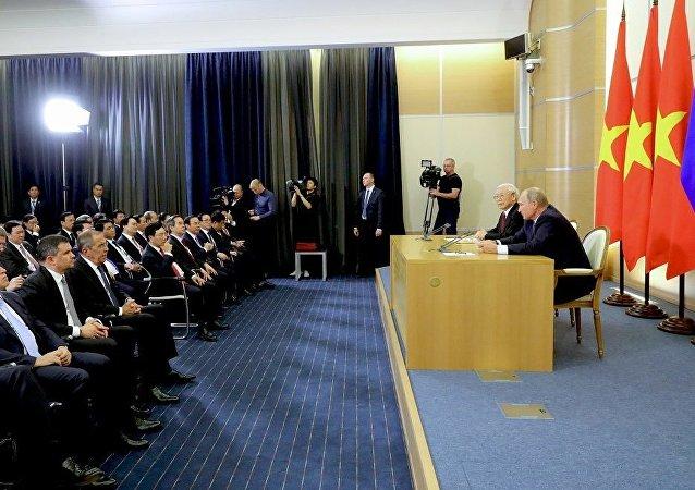 俄罗斯和越南:共同应对变化中的世界挑战