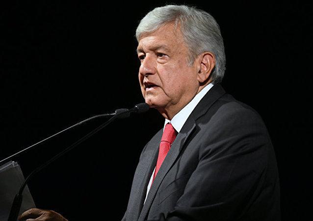 墨西哥總統安德烈斯∙曼努埃爾∙洛佩斯∙奧夫拉多爾