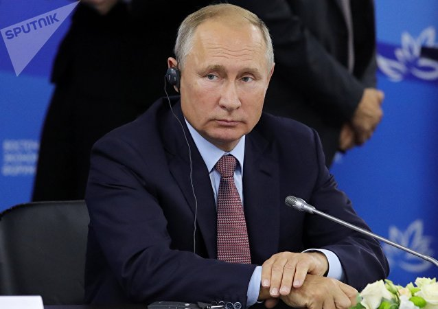 普京与来自不同国家的26名企业家举行会晤