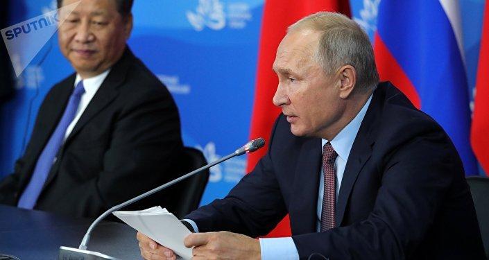 普京談俄中戰略夥伴關係的重要組成部分