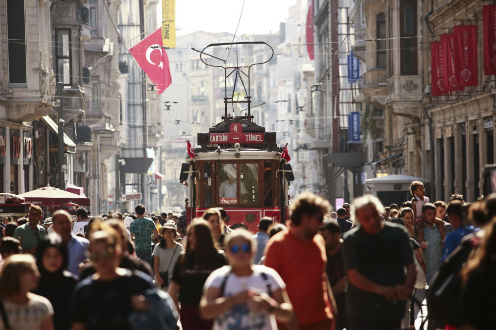 伊斯坦布爾最受歡迎的Istiklal街