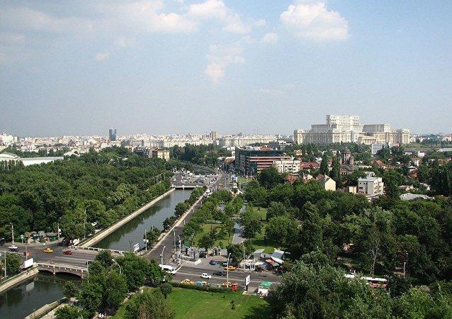 罗马尼亚首都布加勒斯特