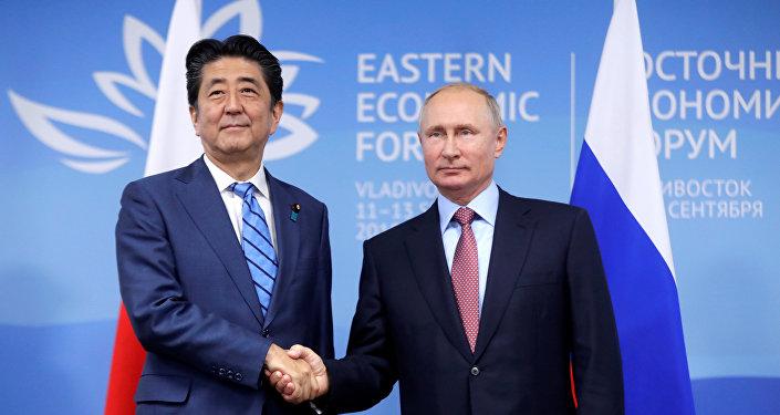 媒體:日俄元首在普京有關和平條約的提議後交換意見