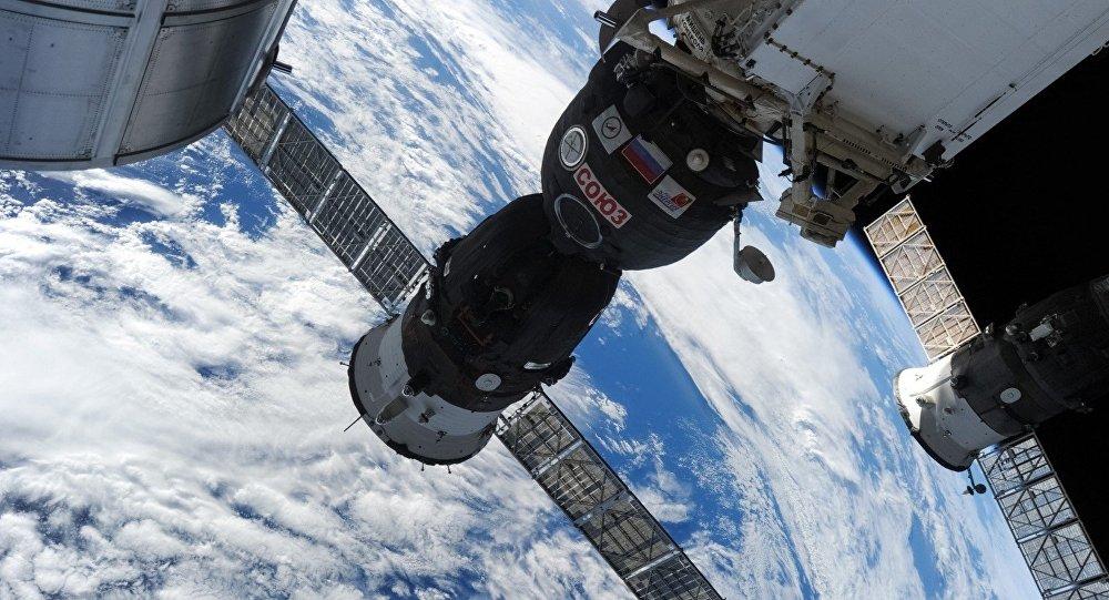 俄副總理:美國宇航員在「聯盟」號上鑽孔的說法不可接受