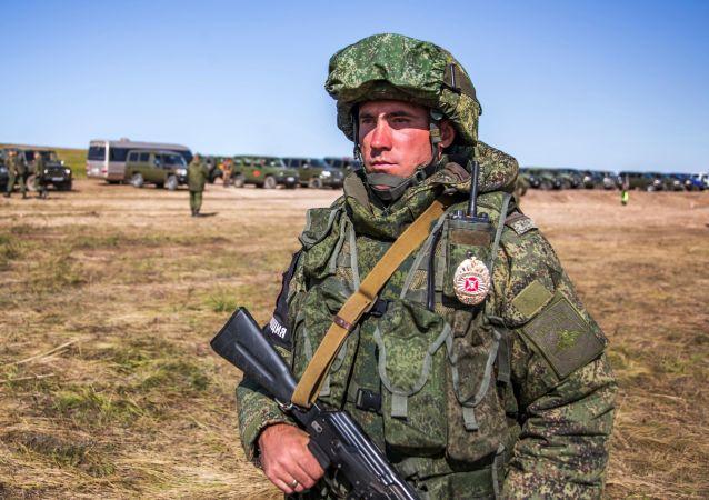 Военные учения Восток-2018